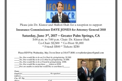 Dave Jones For Attorney General
