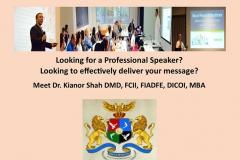 Professional International Speaker