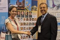 Angela Avila with Kianor Shah