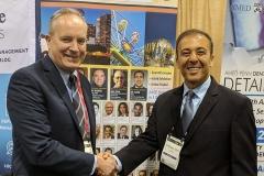 Craig Dickson with Kianor Shah