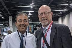 Damon Adams and Kianor Shah