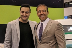 Iman Sadri with Kianor Shah