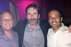 John Hamm, Kianor Shah and Todd Marker