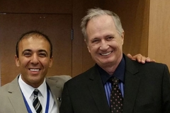 Kianor Shah with Dr. Carl Misch