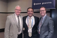 Kianor Shah with Charles Goodcare and Brian Goodcare