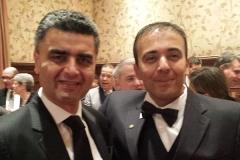 Derek Mahony with Kianor Shah