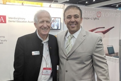 Kianor Shah with Bob Lamb