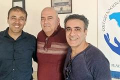 Kianor Shah with Guzman, Magallanes, Kayvon Javid