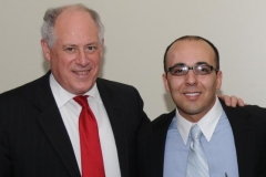 Governor Pat Quinn with Kianor Shah