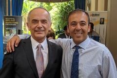 Kianor Shah with Jaime Lozada