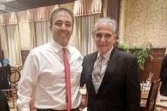 Kianor Shah with Joe Massad