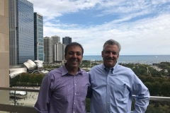 Kianor Shah with Peter Morse