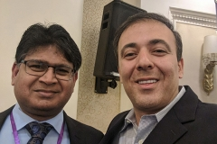Kianor Shah with Rick Ferguson