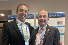 Kianor Shah with Tony Daher