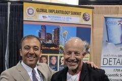 Larry Rifkin with Kianor Shah