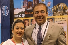 Nancy Zeinalian with Kianor Shah