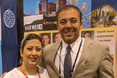 Nancy Zeinalian with Kianor Shah