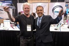 Tim Landis with Kianor Shah