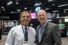 Tony Edwards with Kianor Shah