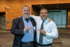Kianor Shah with Dr. Justin Moody