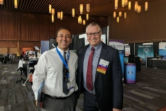 Dr. Kianor Shah with Dr. Zeev Ormianer
