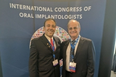 Dr. Kianor Shah with Dr. Michael Pikos