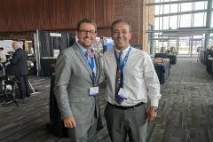 Kianor Shah with Dr. Josh Brower